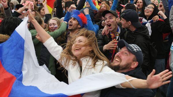 Rusko zvítězilo nad Španělskem a postoupilo do čtvrtfinále MS 2018 - Sputnik Česká republika