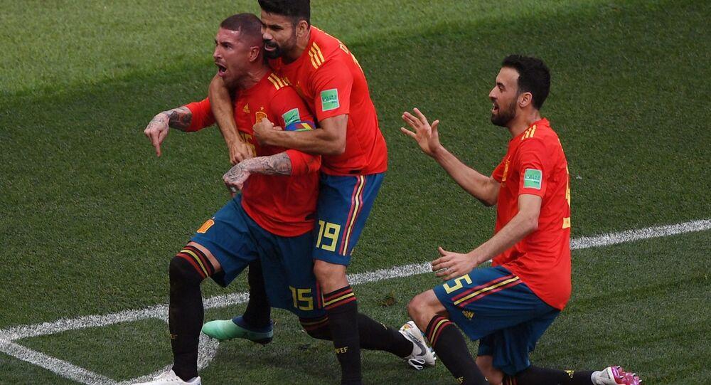Španělští fotbalisté