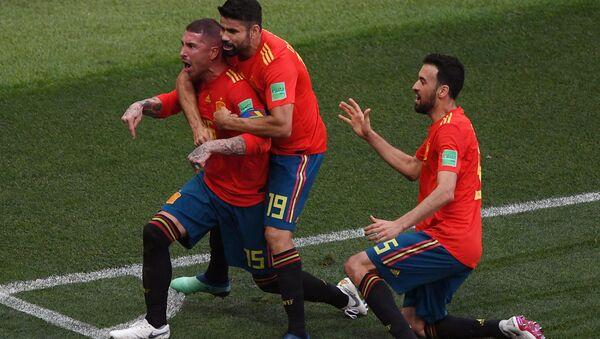 Španělští fotbalisté - Sputnik Česká republika