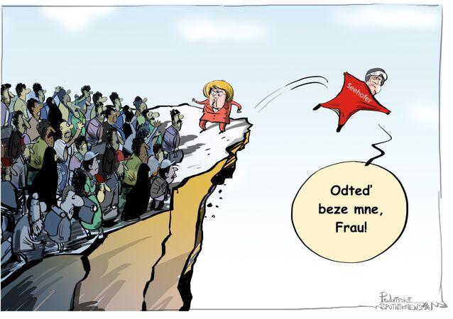 Seehofer karikatura