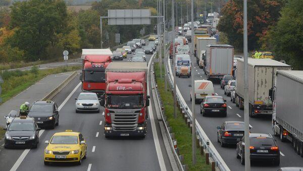 Silnice v Praze, Česko - Sputnik Česká republika