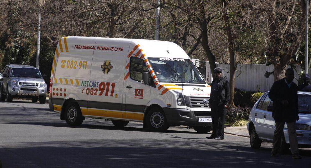 Záchranka v Johannesburgu