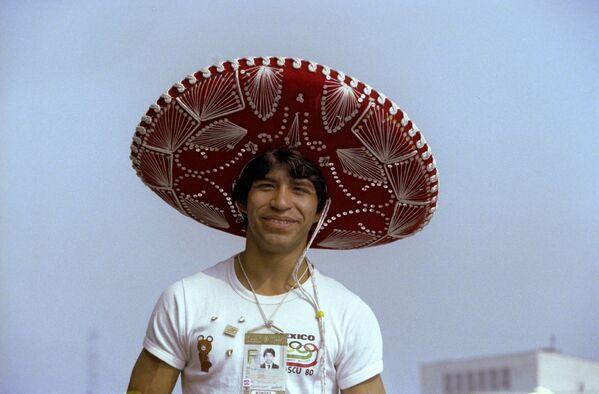 Sportovec z Mexika. XXII letní olympijské hry (19. července - 3. srpna), 1980 - Sputnik Česká republika