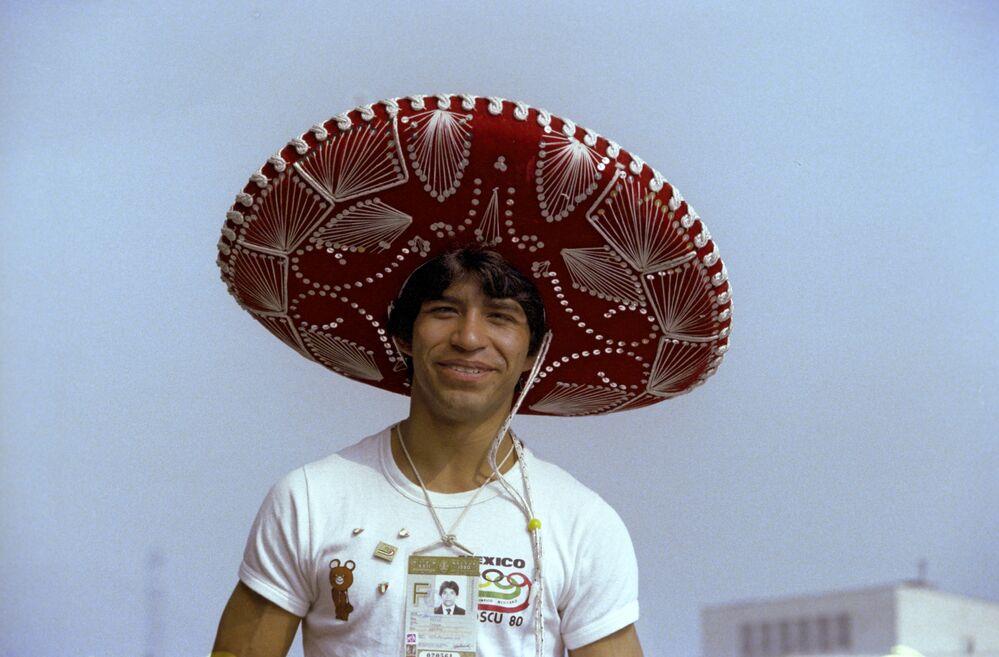 Sportovec z Mexika. XXII letní olympijské hry (19. července - 3. srpna), 1980