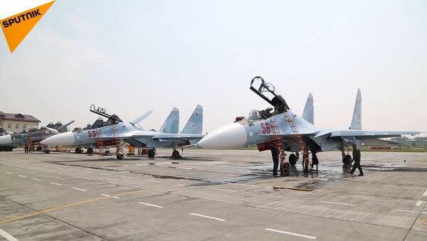 Su-30 SM - Sputnik Česká republika