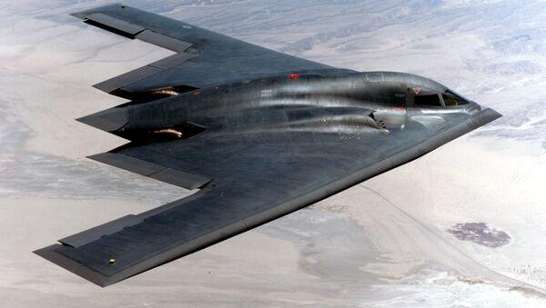 Americký bombardér B-2 - Sputnik Česká republika