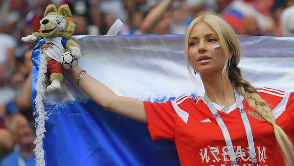 Ruská fanynka - Sputnik Česká republika