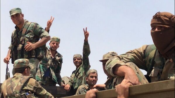 Syrské jednotky se dostaly na hranici s Jordánem v provincii Dar'á - Sputnik Česká republika