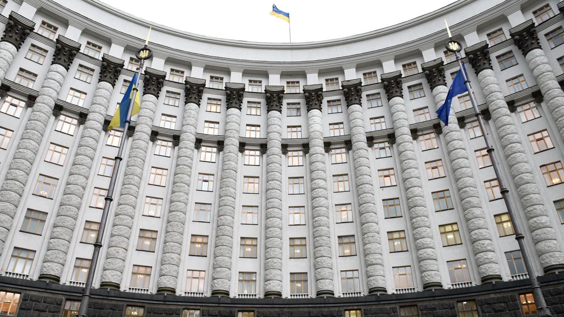 Budova ukrajinské vlády v Kyjevě - Sputnik Česká republika, 1920, 04.08.2021