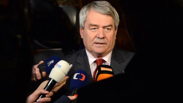 Předseda KSČM Vojtěch Filip - Sputnik Česká republika