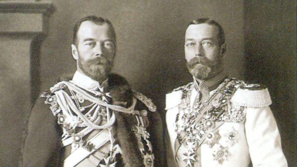 Mikuláš II. a Jiří V. - Sputnik Česká republika