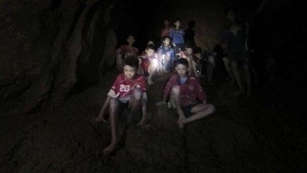 Thajsko. Jeskyně - Sputnik Česká republika