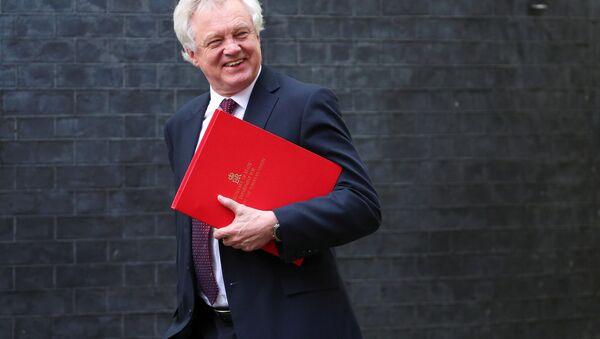 Britský ministr pro brexit David Davis - Sputnik Česká republika