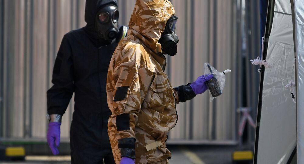 Vyšetřovatelé v Amesbury