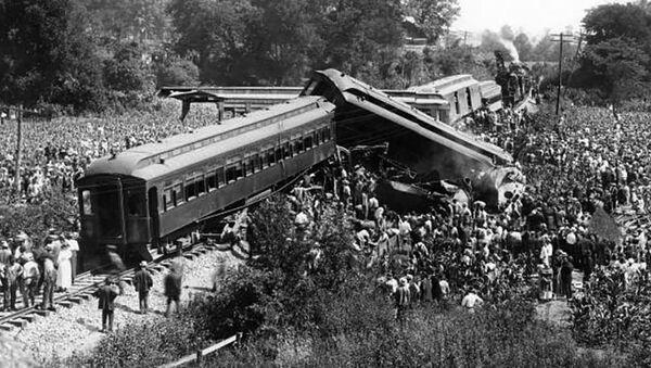 Katastrofa v Nashville, 1918 - Sputnik Česká republika