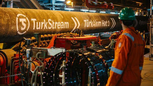 Stavba Tureckého proudu - Sputnik Česká republika