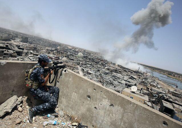 Irácký odtřelovač. Ilustrační foto