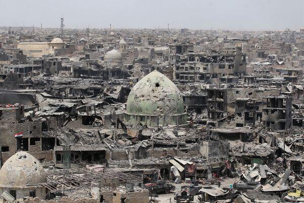Zničený Mosul. Červenec 2017 - Sputnik Česká republika