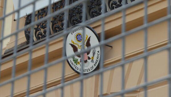 Ambasáde USA v Bratislave hrozí blamáž - Sputnik Česká republika