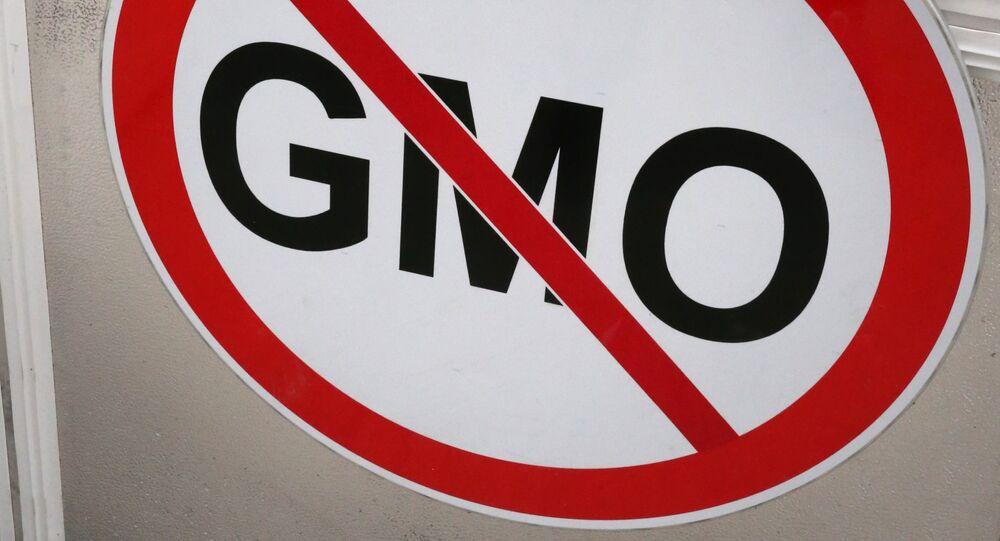 Znak zákazu GMO