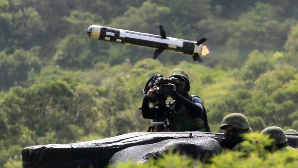 Vojenská cvičení na Tchaj-wanu - Sputnik Česká republika