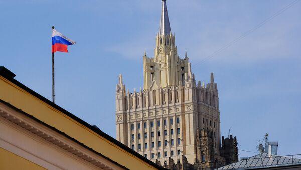 Budova Ministerstva zahraničních věcí Ruska v Moskvě - Sputnik Česká republika