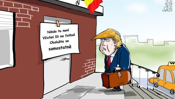 Trumpa nikdo nevíta - Sputnik Česká republika