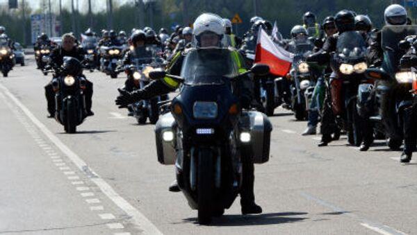Polští bikeři - Sputnik Česká republika