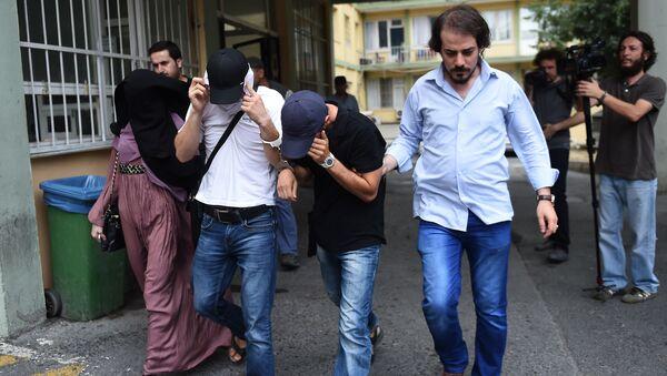 V průběhu zvláštní operace v Turecku bylo zadrženo přes 250 lidí - Sputnik Česká republika