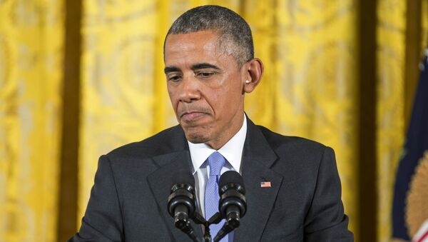 Americký prezident Барак Обама - Sputnik Česká republika