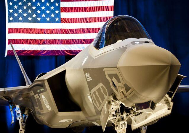 F-35 na základně v USA