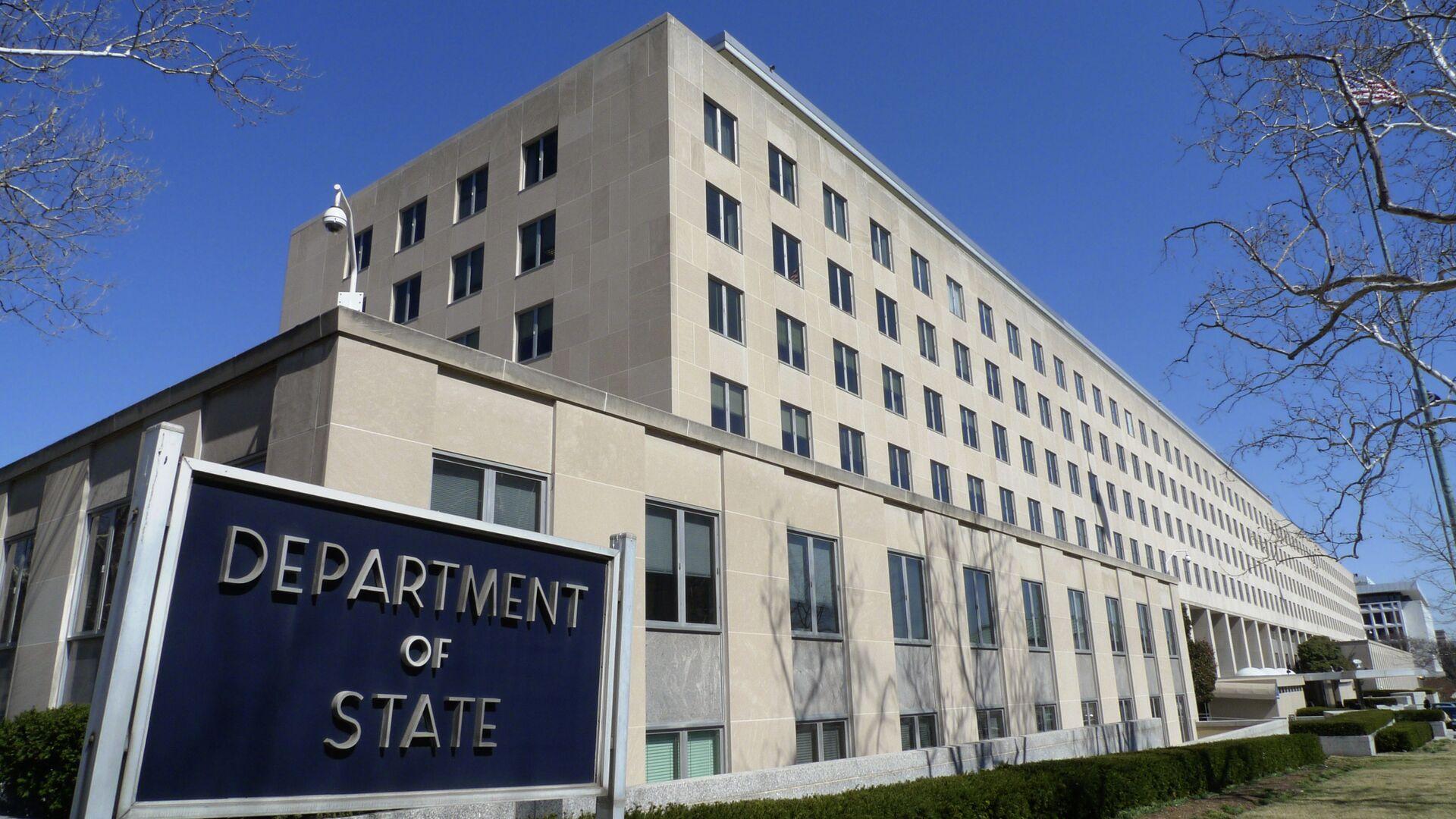 Ministerstvo zahraničí USA ve Washingtonu - Sputnik Česká republika, 1920, 21.06.2021