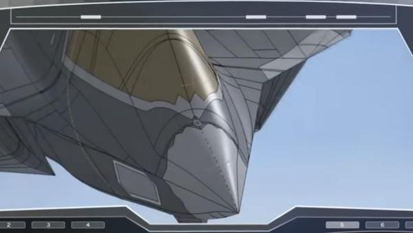 Vyobrazení evropského stíhacího letounu páté generace - Sputnik Česká republika