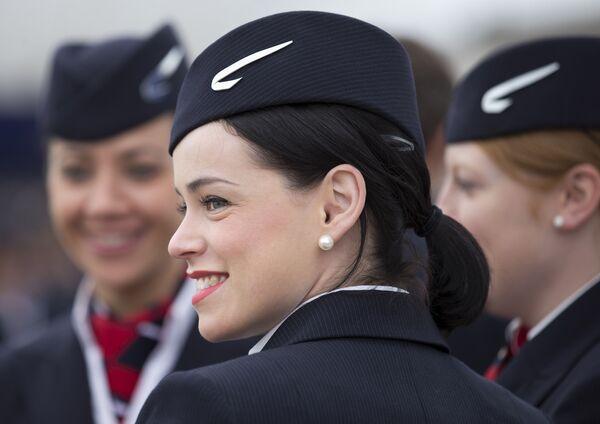 Letušky British Airways na letišti Heathrow v Londýně - Sputnik Česká republika