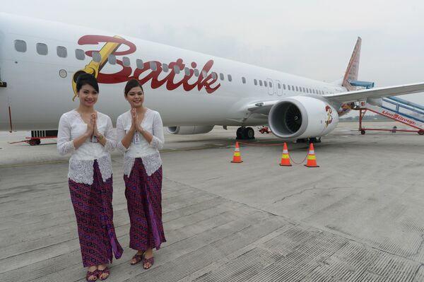 Letušky z Indonésie aerolinek Lion Air - Sputnik Česká republika