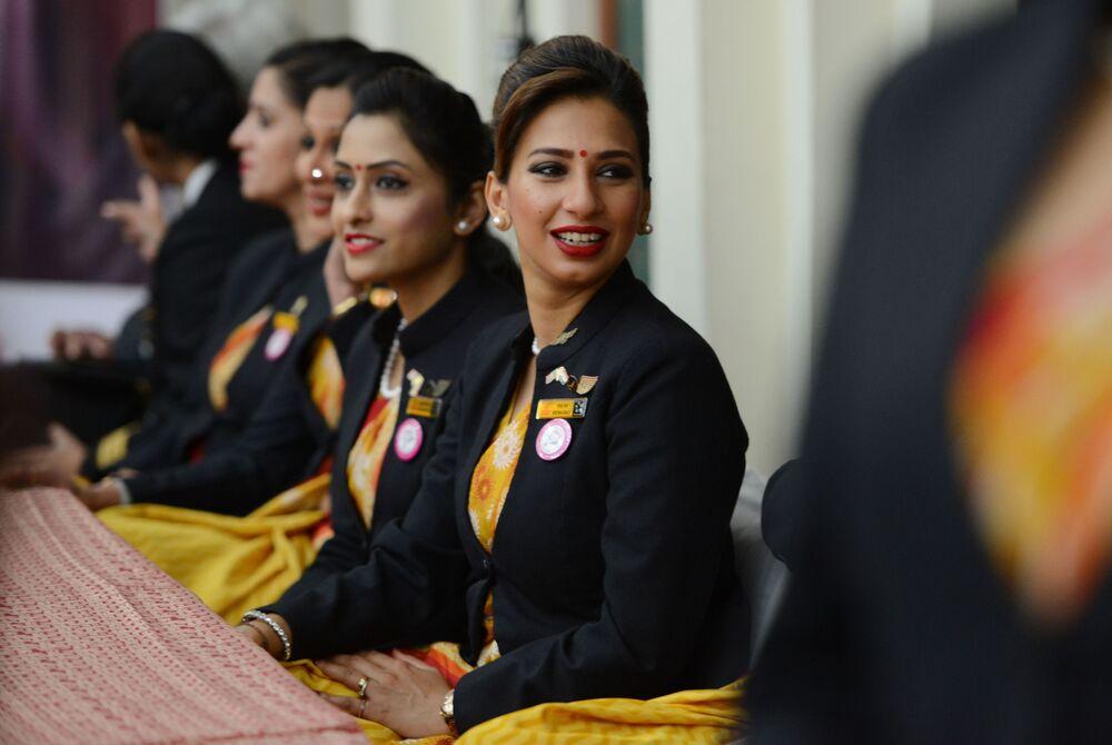 Letušky aerolinek Air India