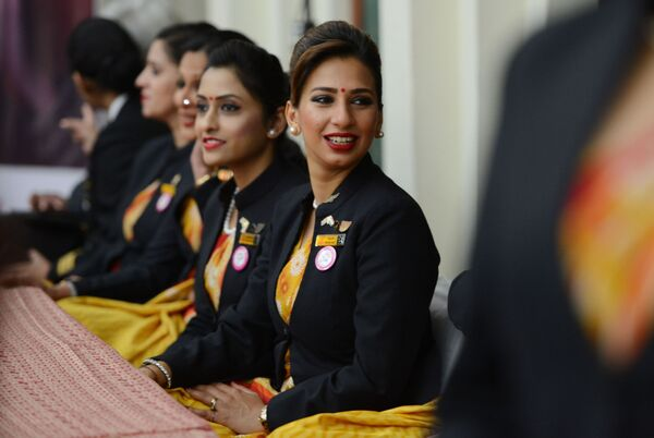 Letušky aerolinek Air India - Sputnik Česká republika