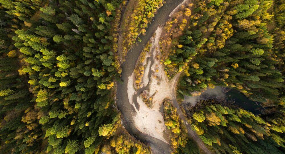 Řeka Kojard v Krasnodarském kraji. Ilustrační foto