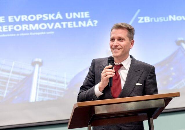 Předseda bavorské Alternativy pro Německo a poslanec Spolkového sněmu Petr Bystroň