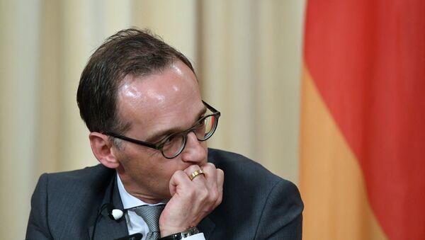 Deutscher Außenminister Heiko Maas  - Sputnik Česká republika