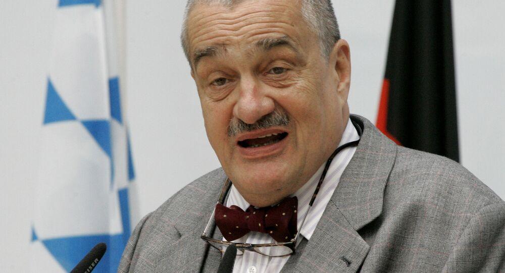 Čestný předseda TOP 09 Karel Schwarzenberg