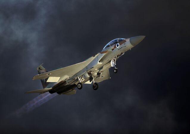 Izraelský stíhací letoun F-15