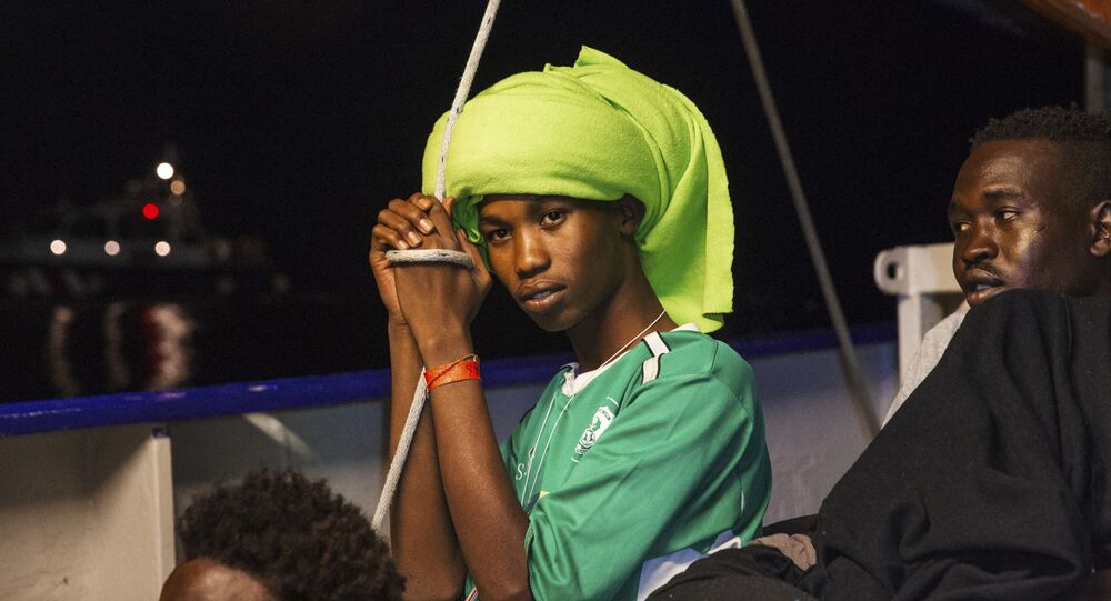Migrant zachráněný ve Středozemním moři