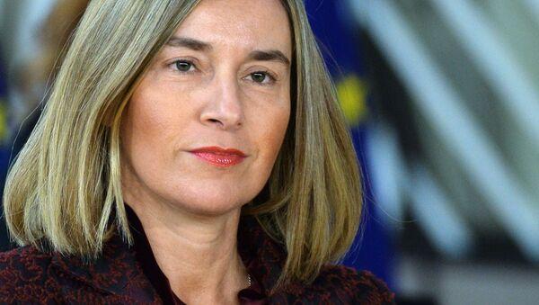 Šéfka zahraniční politiky Európské unie Federica Mogheriniová - Sputnik Česká republika