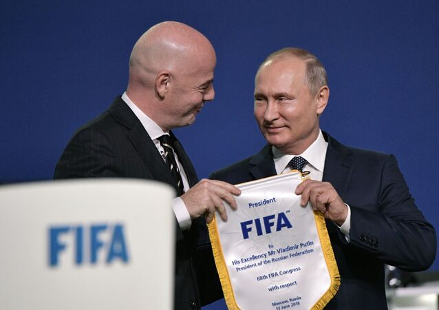 Putin a prezident FIFA
