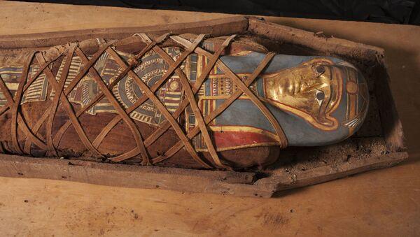 Egyptská mumie. Ilustrační foto - Sputnik Česká republika