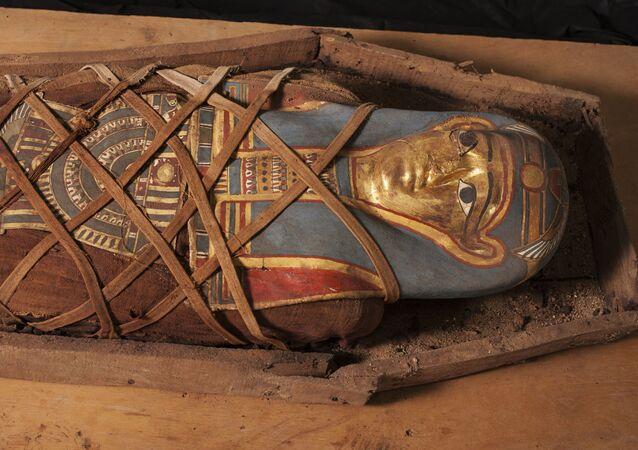 Egyptská mumie. Ilustrační foto