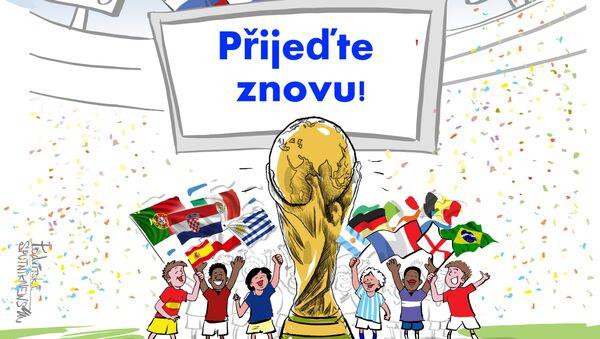 Mistrovství skončilo, vzpomínky nám ale zůstanou - Sputnik Česká republika