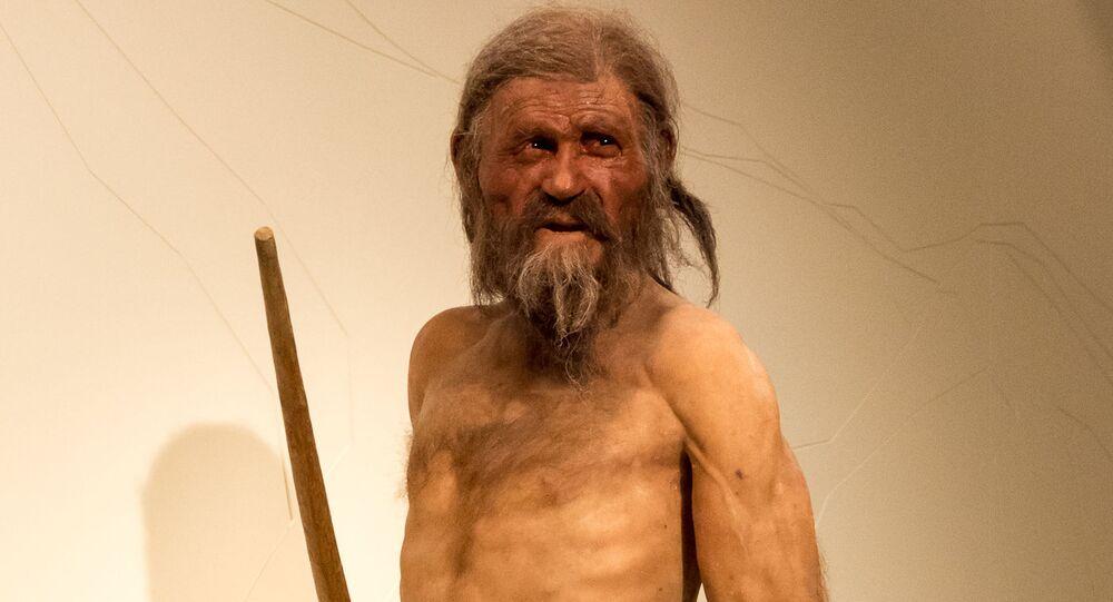 Ledovcový muž Ötzi