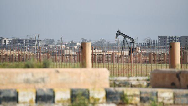 Těžba ropy v Sýrii - Sputnik Česká republika